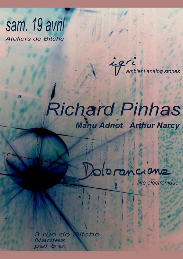 Richard Pinhas Beautiful May New York  West Side